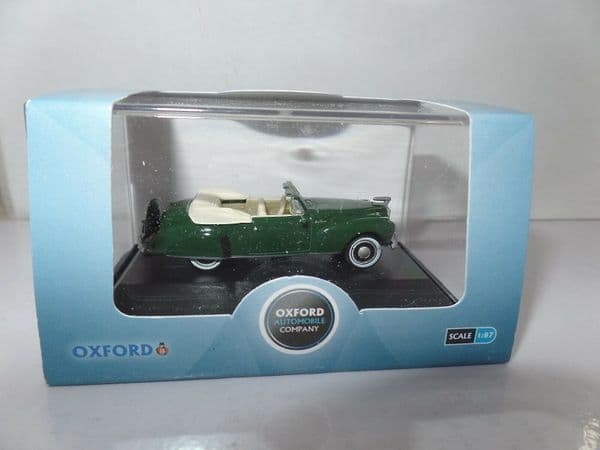Oxford 87LC41002 LC41002 1/87 HO Scale Lincoln Continental 1941 Spode Green