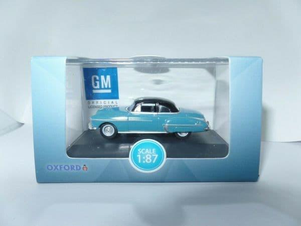 Oxford 87OR50002 OR50002 1/87 HO Scale Oldsmobile Rocket 88 50 Crest Blue & Black