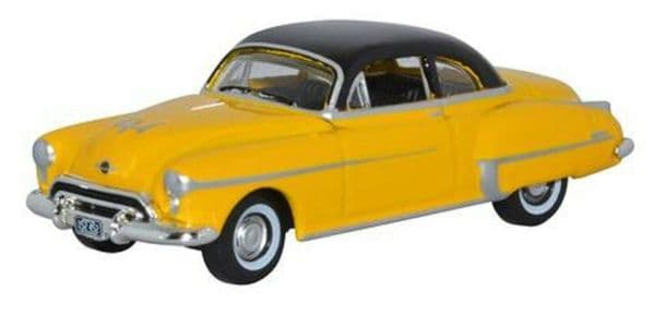Oxford 87OR50003 OR50003 1/87 HO Scale Oldsmobile Rocket 88 1950 Yellow Black