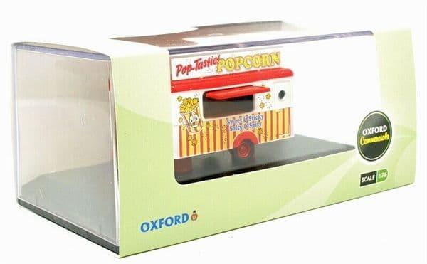 OXFORD 87TR016 TR106  1/87 HO Scale  Popcorn MOBILE TRAILER - BOXED