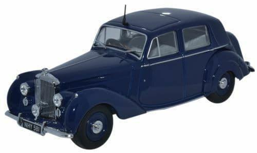 Oxford BN6001 43BN6001 1/43 O Scale Bentley MK VI 6 Dark Blue Ivo Peters MIMB