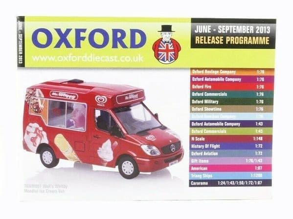 Oxford Diecast Catalogue 2013 June 2013 - September 2013 WM001