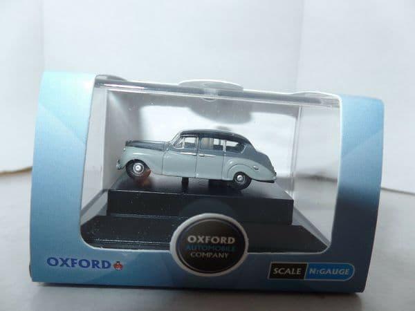 Oxford NAP003 N Gauge 1/148 Scale Austin Princess Late Carlton And Light Grey