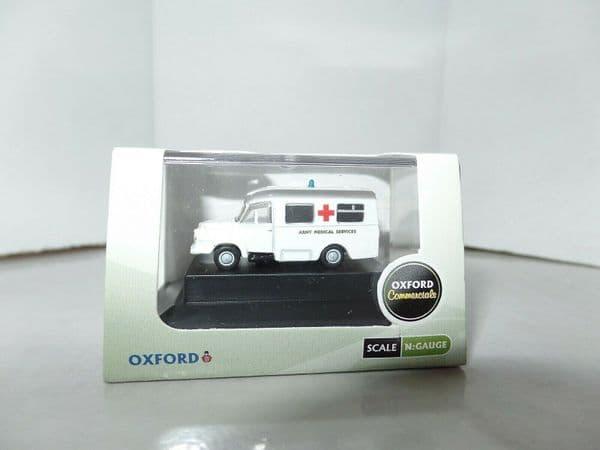 Oxford NBED006 N Gauge 1/148 Scale Bedford J1 Ambulance Army Medical Service