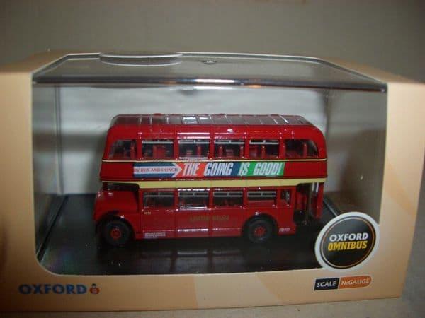 Oxford NBL002 N Gauge 1/148 Scale Bristol Lodekka LD Bus United Welsh Swansea