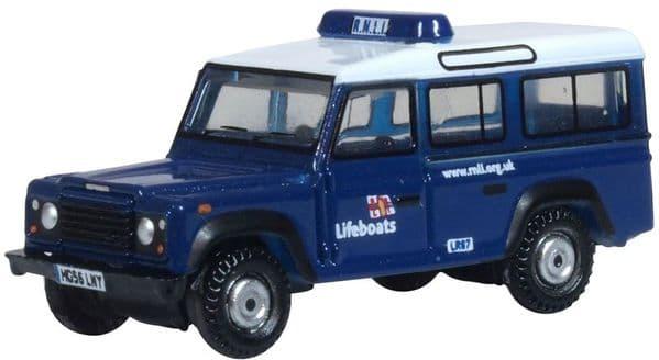 Oxford NDEF014 N gauge 1/148 Land Rover Defender RNLI Lifeboats