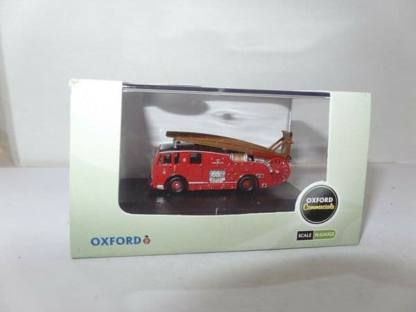 Oxford NDEN001 N Gauge 1/148 Scale Dennis F12 Fire Engine London Brigade