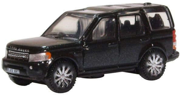 Oxford NDIS002 N Gauge 1/148 Scale Land Rover Discovery 4 Santorini Black