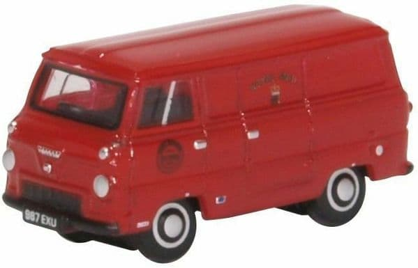 Oxford NFDE004 1/148 Scale N Gauge Ford 400E Thames Van Post Office Royal Mail