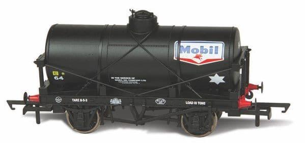 Oxford Rail 76TK2001 TK2001 1/76 OO 12 Ton Tank Wagon Mobil Oil Petrol No64