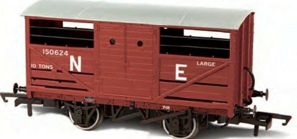 Oxford Rail OR76CAT002 CAT002 1/76 OO Scale Cattle Wagon LNER NE Railway