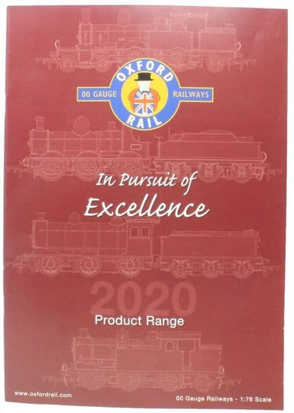 Oxford Rail Product Range Catalogue    2020 - 2021