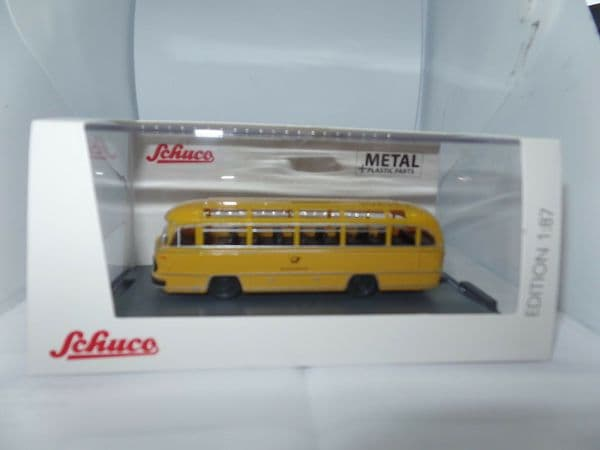Schuco 1/87  SHU 26341 Mercedes Benz O321 Coach Deutsche Bundespost