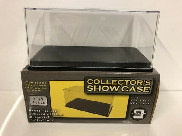 Triple 9 43000 Stackable Display Case 145 x 70 x 70 for 1/43 Model Cars