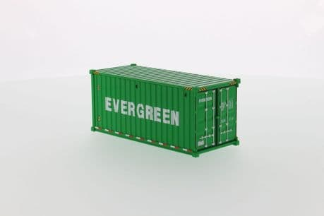 DiecastMasters 20 Foot Dry goods Sea Container Evergreen