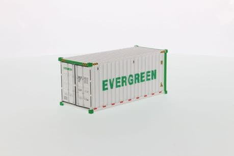 DiecastMasters 20 Refrigerated Sea Container Evergreen White