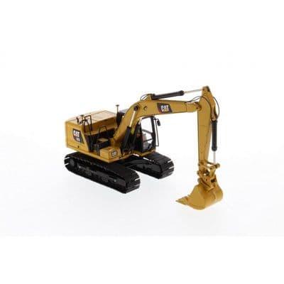 Diecast Masters Cat® 323 Hydraulic Excavator with 4 Work Tools - Next Generation