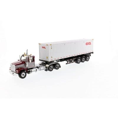 Diecast Masters Western Star® 4900 SF Day Cab Tandem 6x4 Tractor with 40' Dry Goods Sea Container