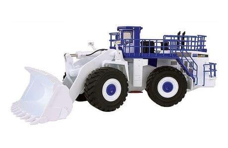 First Gear Komatsu WA900-3 Wheel loader White / Blue