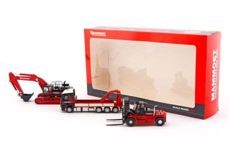 IMC 1:87 Scale Mammoet Construction Set