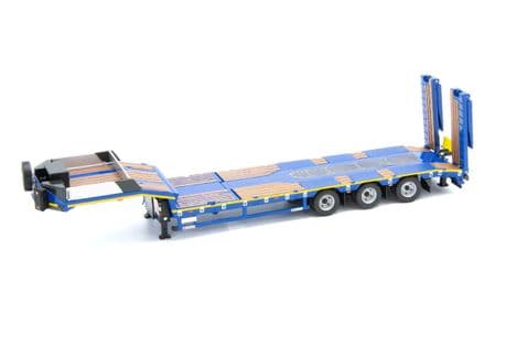 IMC Blue Series Nicolas Euroflex 3 Axle Semi Low Loader Trailer