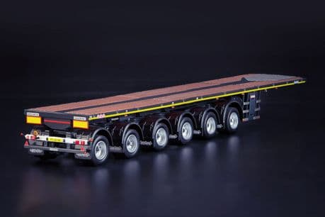 IMC Grey Series Nooteboom OVB 6 AxleBallast trailer with 10ft Container