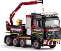 IMC Mammoet Mercedes Arocs 8X4 + Ballast Box + FassiCrane