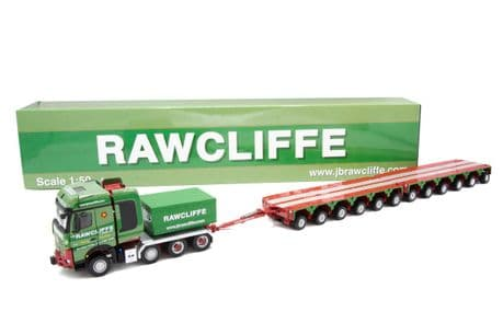 IMC Rawcliffe Mercedes-Benz Arocs 8x4 with a ballast box and 2x6 axle module trailer