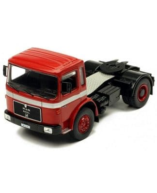 IXO MAN 16.320 in Red, Scale: 1:43