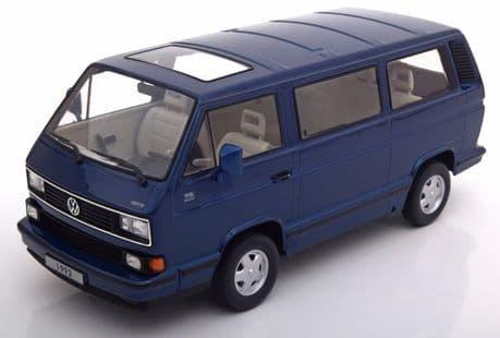 KK Scale VolkswagenBulli T3 Multivan, Metallic Blue, 1992 1:18