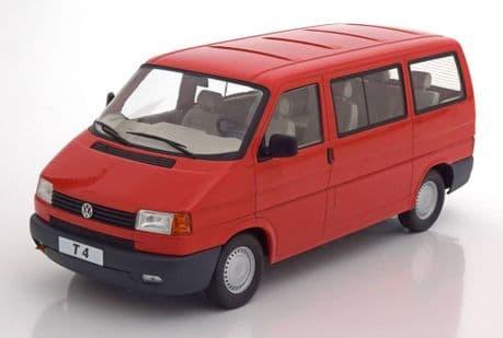 KK Scale Volkswagen T4 Caravelle Red 1:18