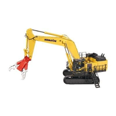 NZG Komatsu PC1250-11 Excavator with demolition equipment