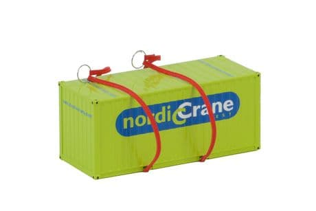 WSI 20 FT Container Nordic Crane with Straps