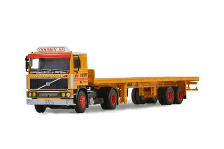 WSI Doumen Volvo F12 4x2 with Flatbed Trailer