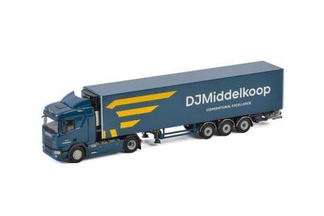 WSI Middelkoop ScaniaR Normal CR20N 4X2 with Fridge Trailer