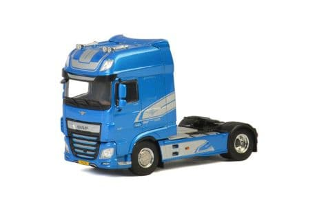 WSI Premium Line DAF XF Super Space Cab 90th Anniversary Blue