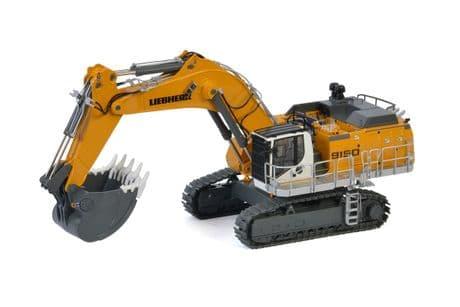 WSI Premium LineLiebherr R9150 B Backhoe Excavator in Yellow