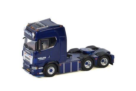 WSI Weijts Transport ScaniaS HighlineCS20H 6X2 Tag Axle