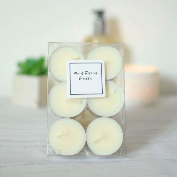 Coconut and Lime Tealights