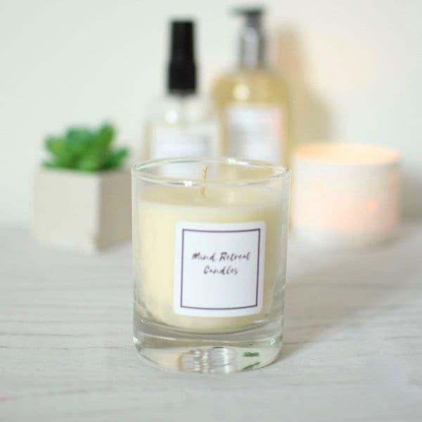 Thyme, Olive and Bergamot Soy Wax Candle
