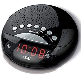 AKAI Alarm Clock Radio with Bluetooth A61022