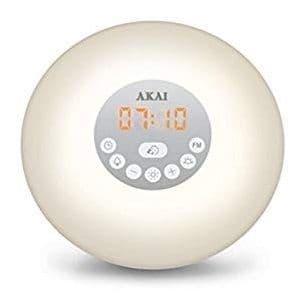 AKAI Wake Up Alarm Clock Radio Multi Coloured A61023