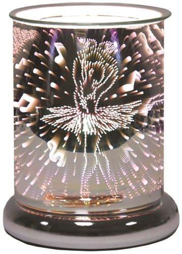 AROMA Cylinder 3D Electric Wax Melt Burner - Ballerina