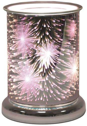 AROMA Cylinder 3D Electric Wax Melt Burner - Supernova