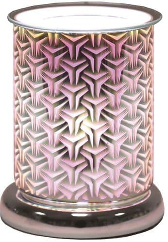 AROMA Cylinder 3D Electric Wax Melt Burner - Tri Star