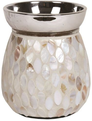 AROMA Electric Wax Melt Burner Mother Of Pearl