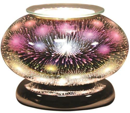 AROMA Ellipse 3D Electric Wax Melt Burner - Fountain