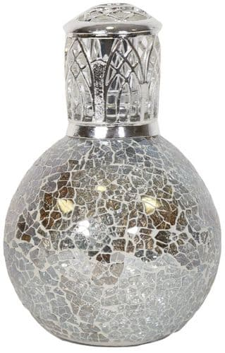 AROMA Fragrance Lamp Gold & Silver