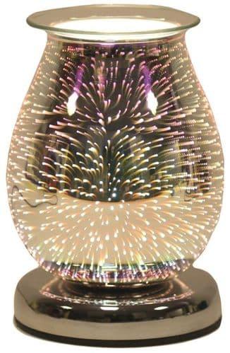 AROMA Oval 3D Electric Wax Melt Burner - Burst