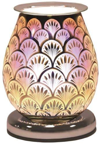 AROMA Oval 3D Electric Wax Melt Burner - Fan